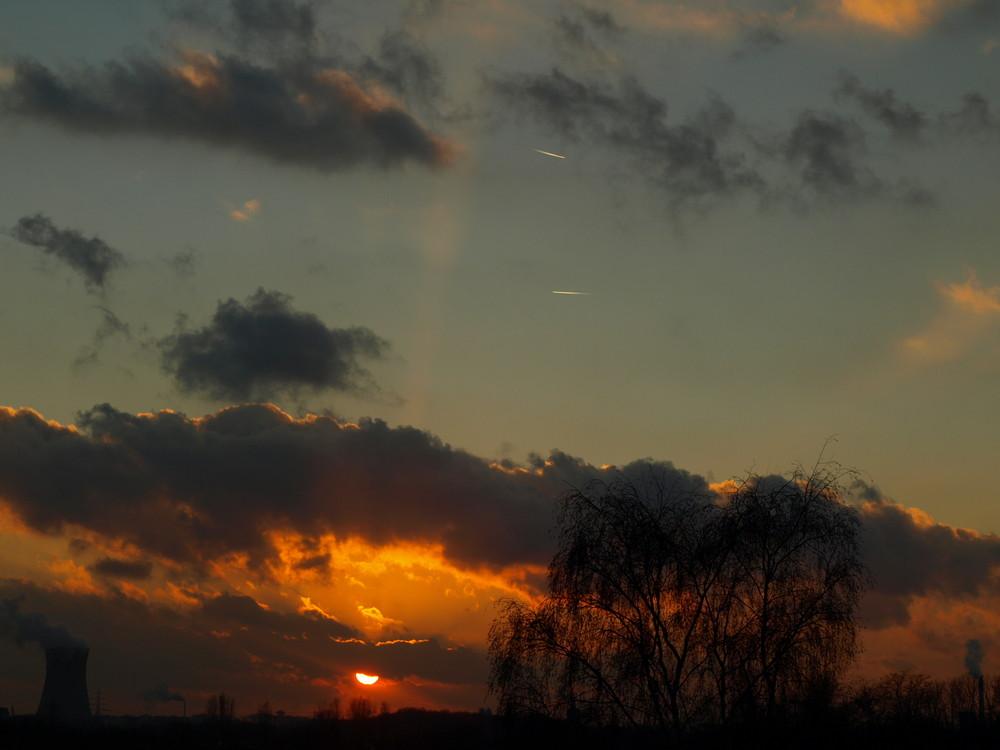 Sky is burning