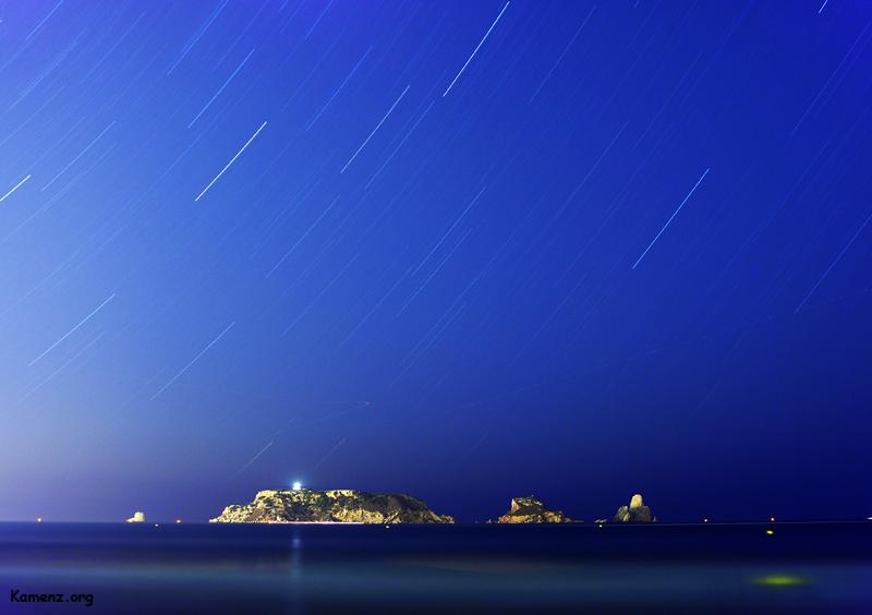 Sky over Islas Medes