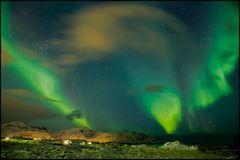 sky view West- Lofoten Norway