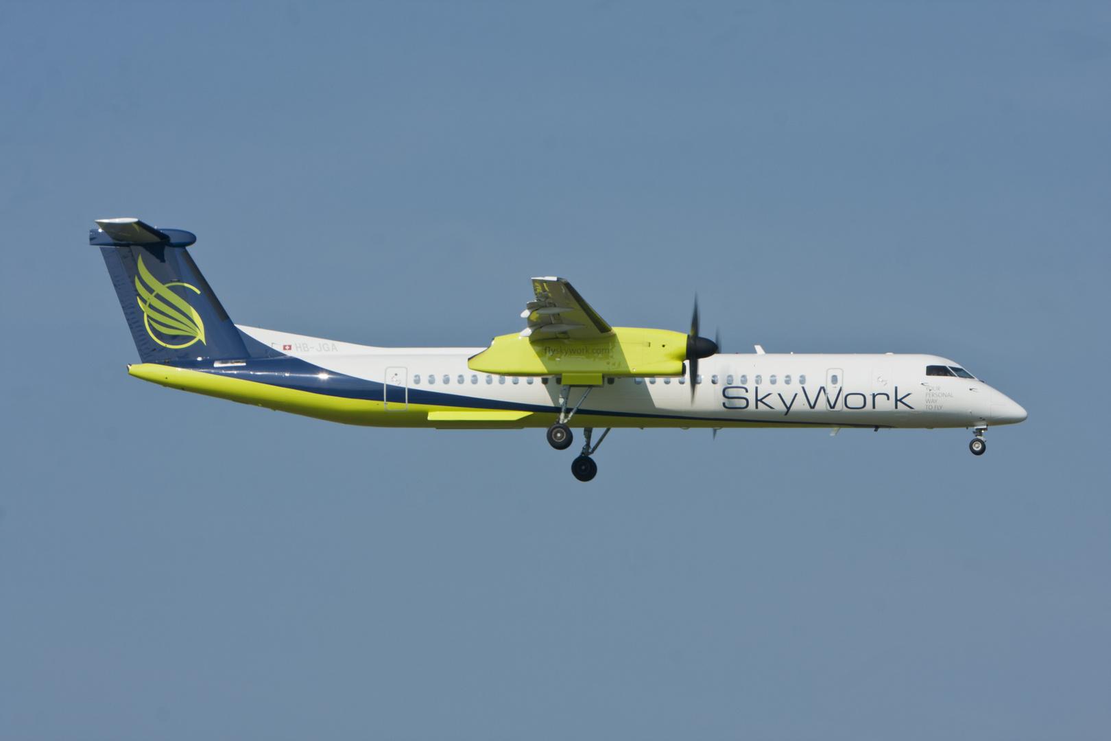 Sky Work Airlines DeHavilland Canada DHC 8-402-Q