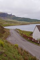 Skye - Portree - old man of storr