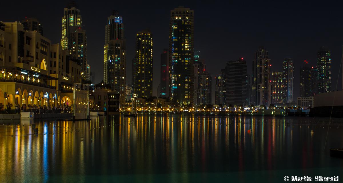 Skyline bei Dubai Mall