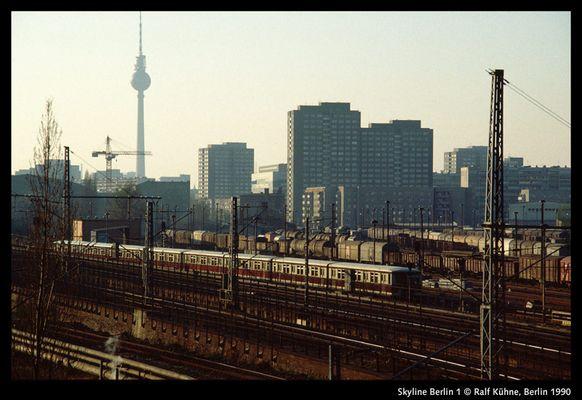 Skyline Berlin 1, 1990