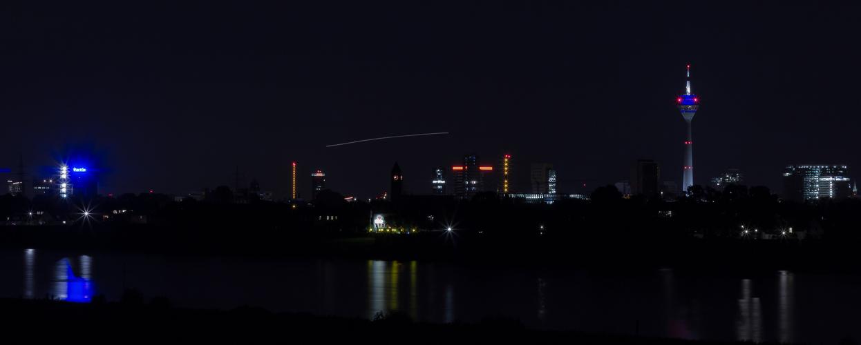 Skyline Düsseldorf Panorama