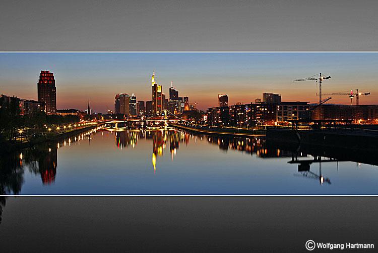 Skyline Frankfurt 18.04.2010