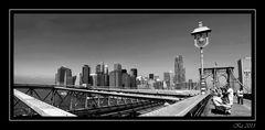 Skyline from Brooklyn Bridge