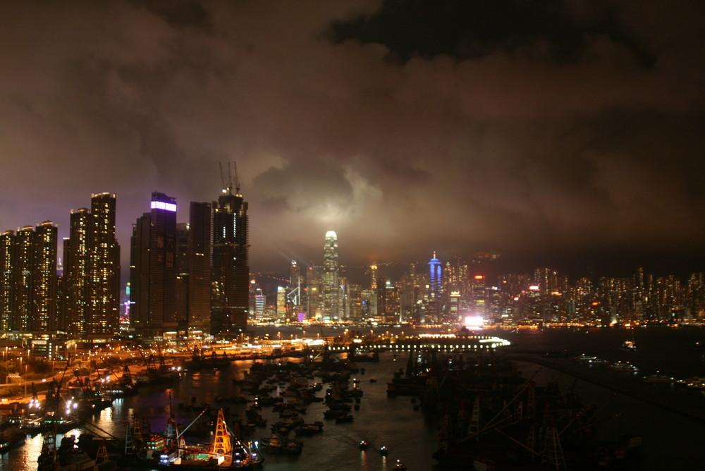 Skyline from Kowloon