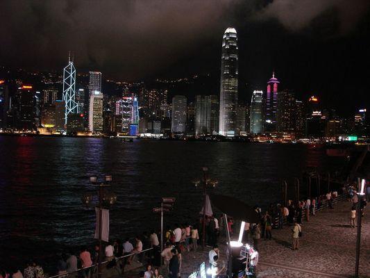 Skyline Hong Kong City