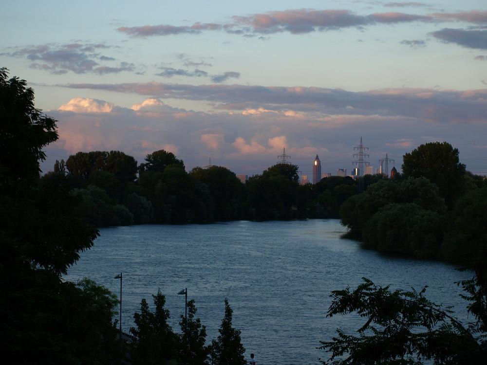 Skyline in der Abendsonne 5