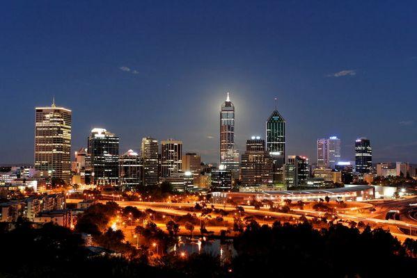 Skyline in Perth