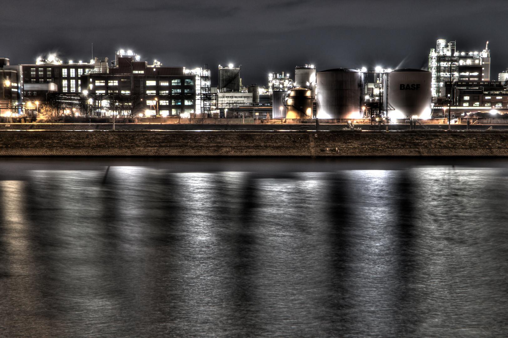 Skyline Industriegebiet