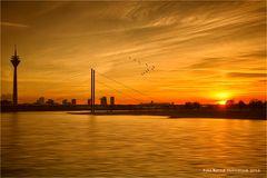 Skyline .... Landeshauptstadt NRW