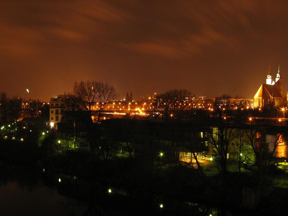 Skyline Magdeburg 2005