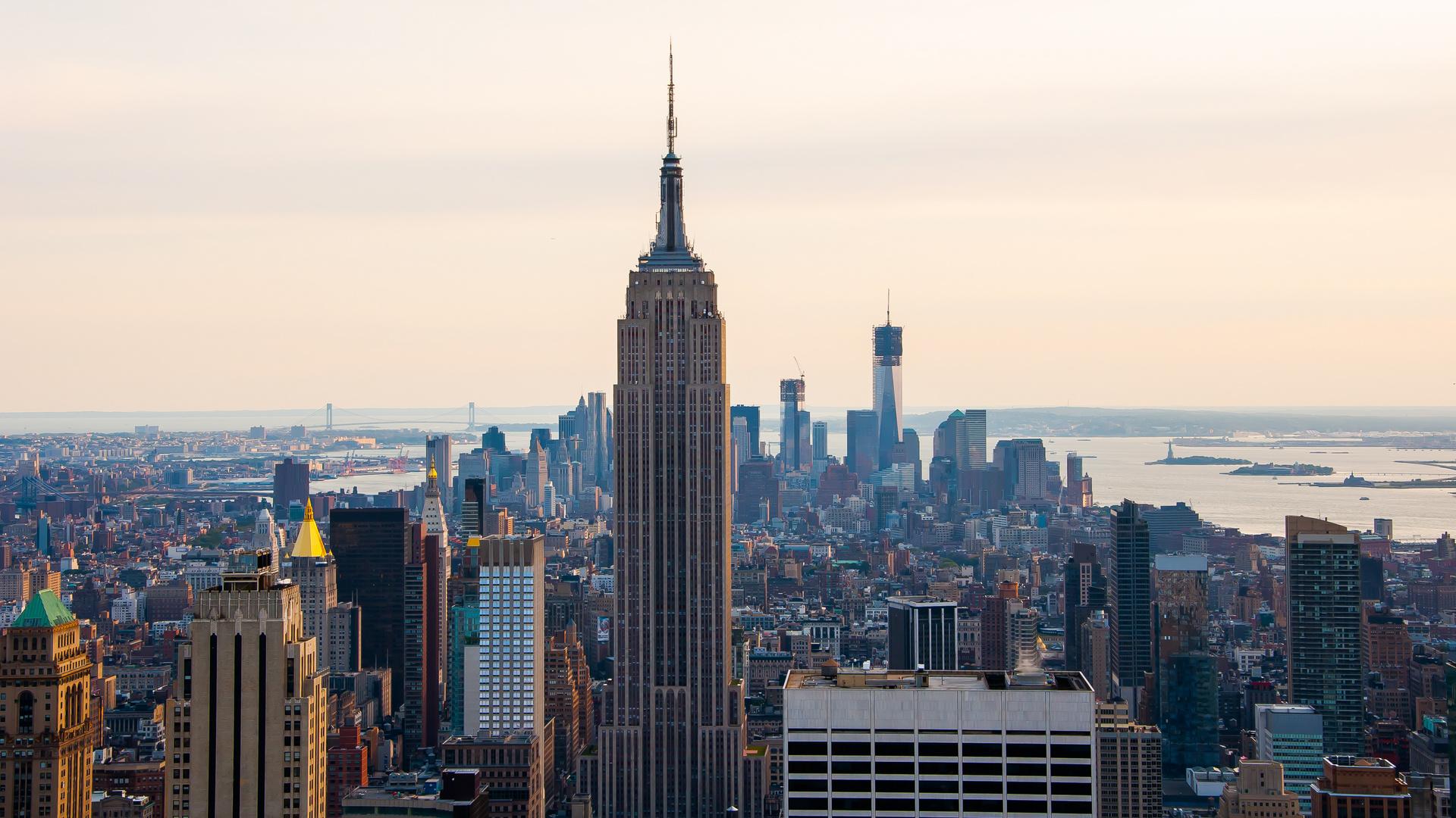 Skyline NYC - Rockefeller Center view