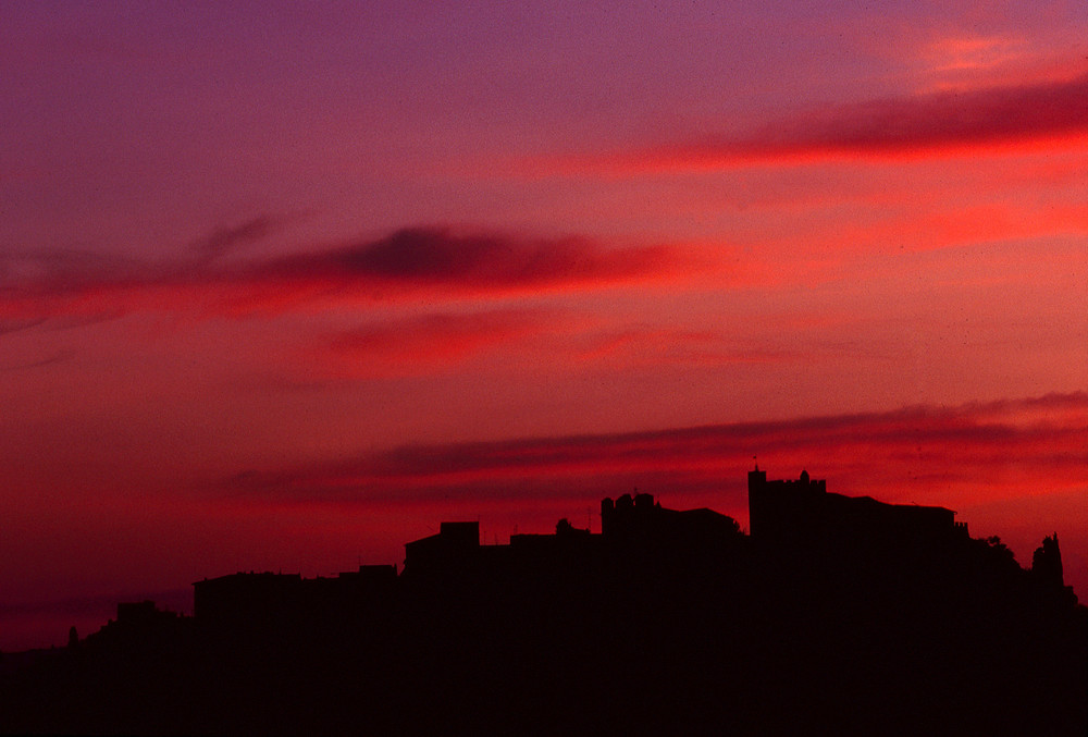skyline of Certaldo