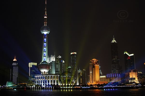 Skyline Pudong Shanghai