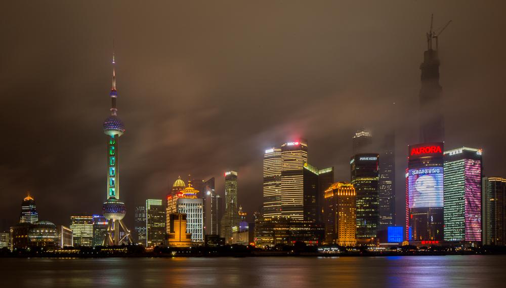 Skyline Pudong-Shanghai