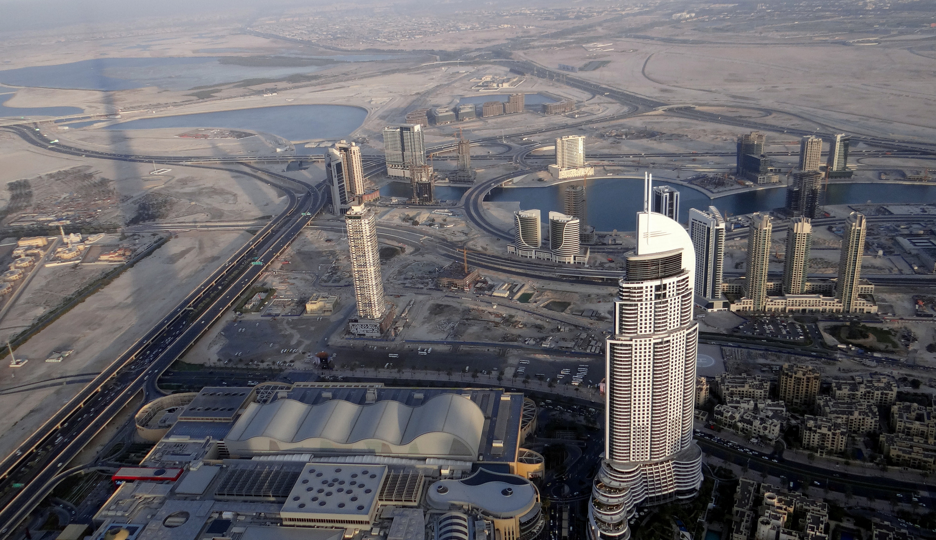 Skyline & Shadow - Dubai