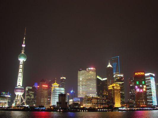 Skyline Shanghai im Mai 2011