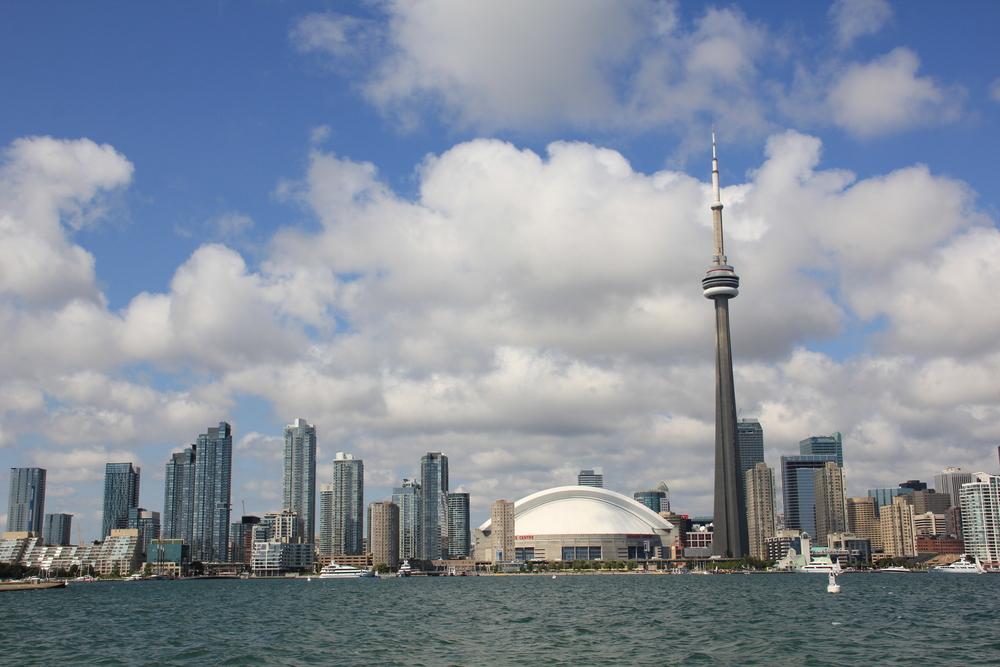 Skyline Toronto August 2010
