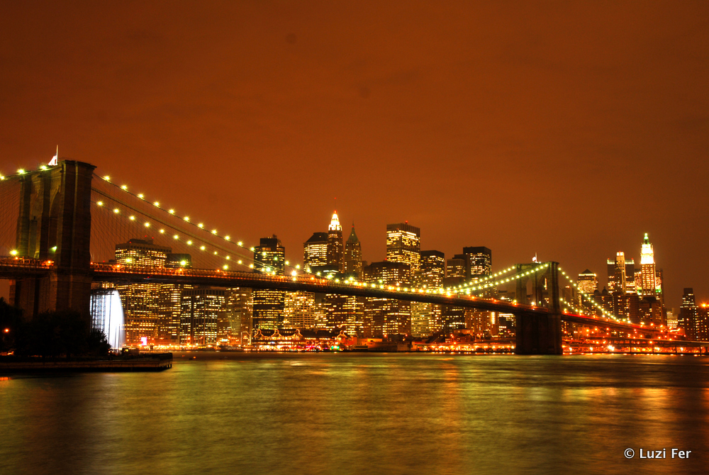 Skyline von Brooklyn aus