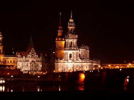 Skyline von Dresden (Canaletto Perspektive)