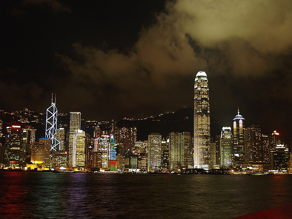 skyline von hong hong (2006)