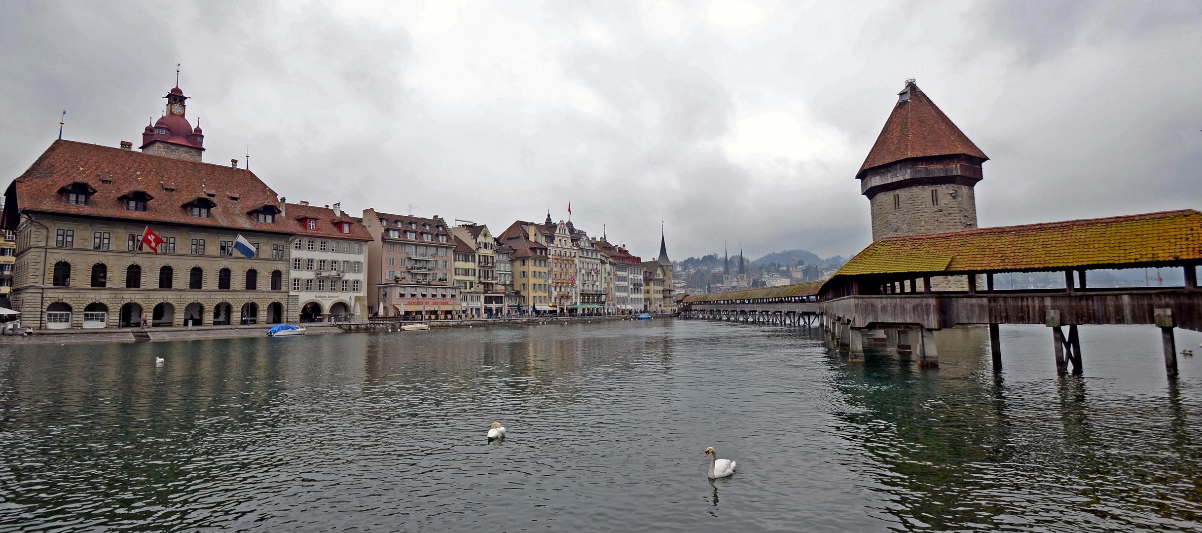 """"""" Skyline von Luzern """" 1"""