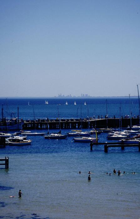 Skyline von Melbourne, mal anders :-)