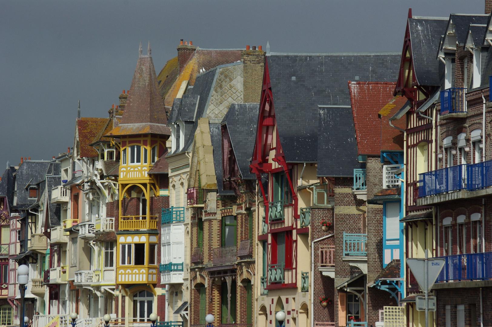 """""""Skyline"""" von Mers-les-Bains"""