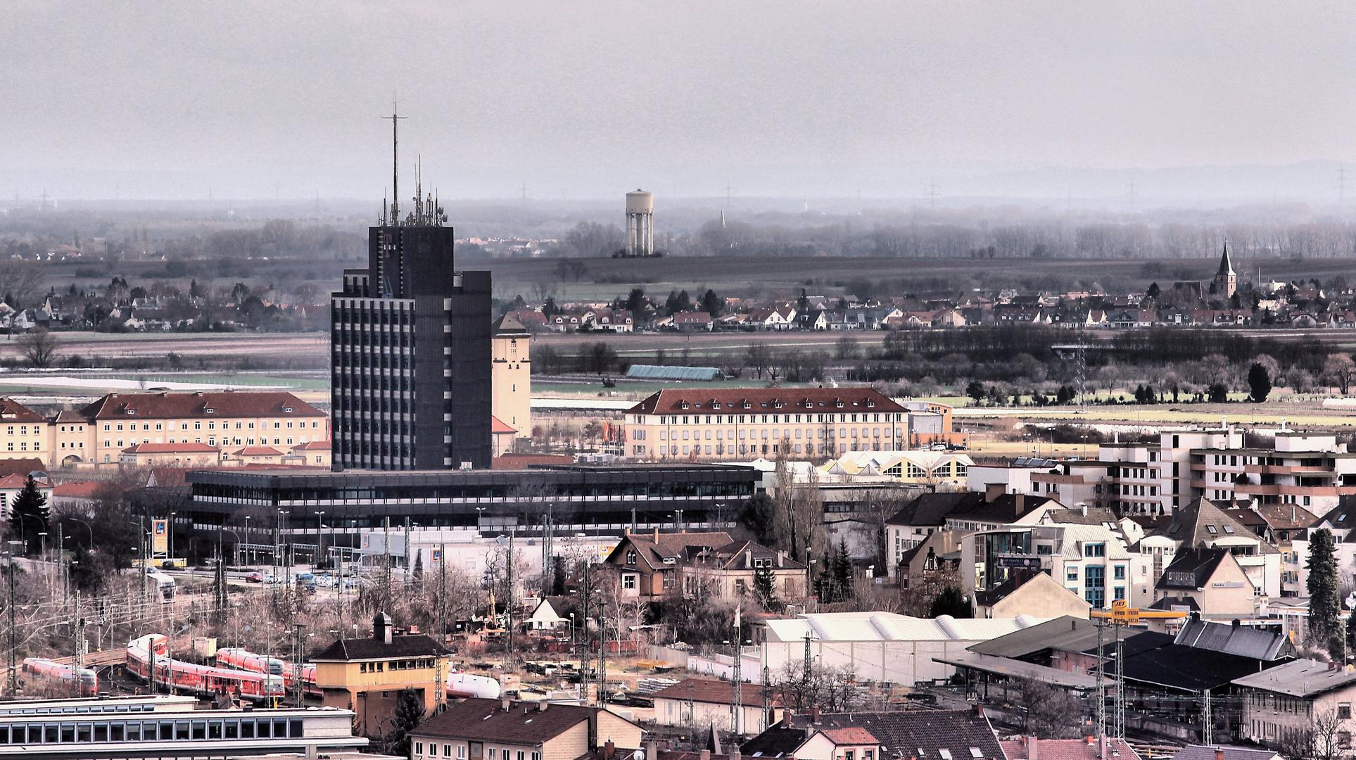 Skyline von Neustadt