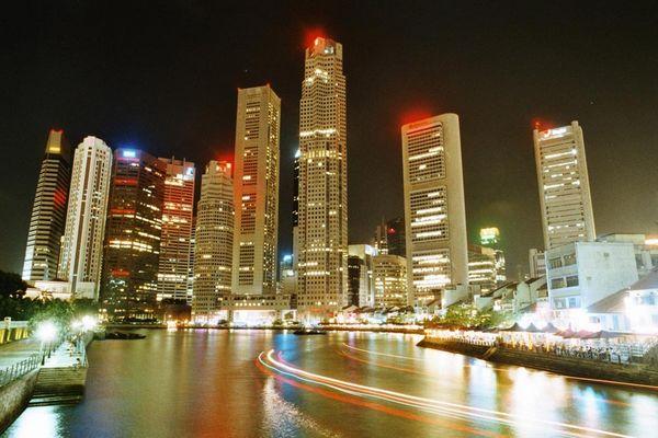 Skyline von Singapore