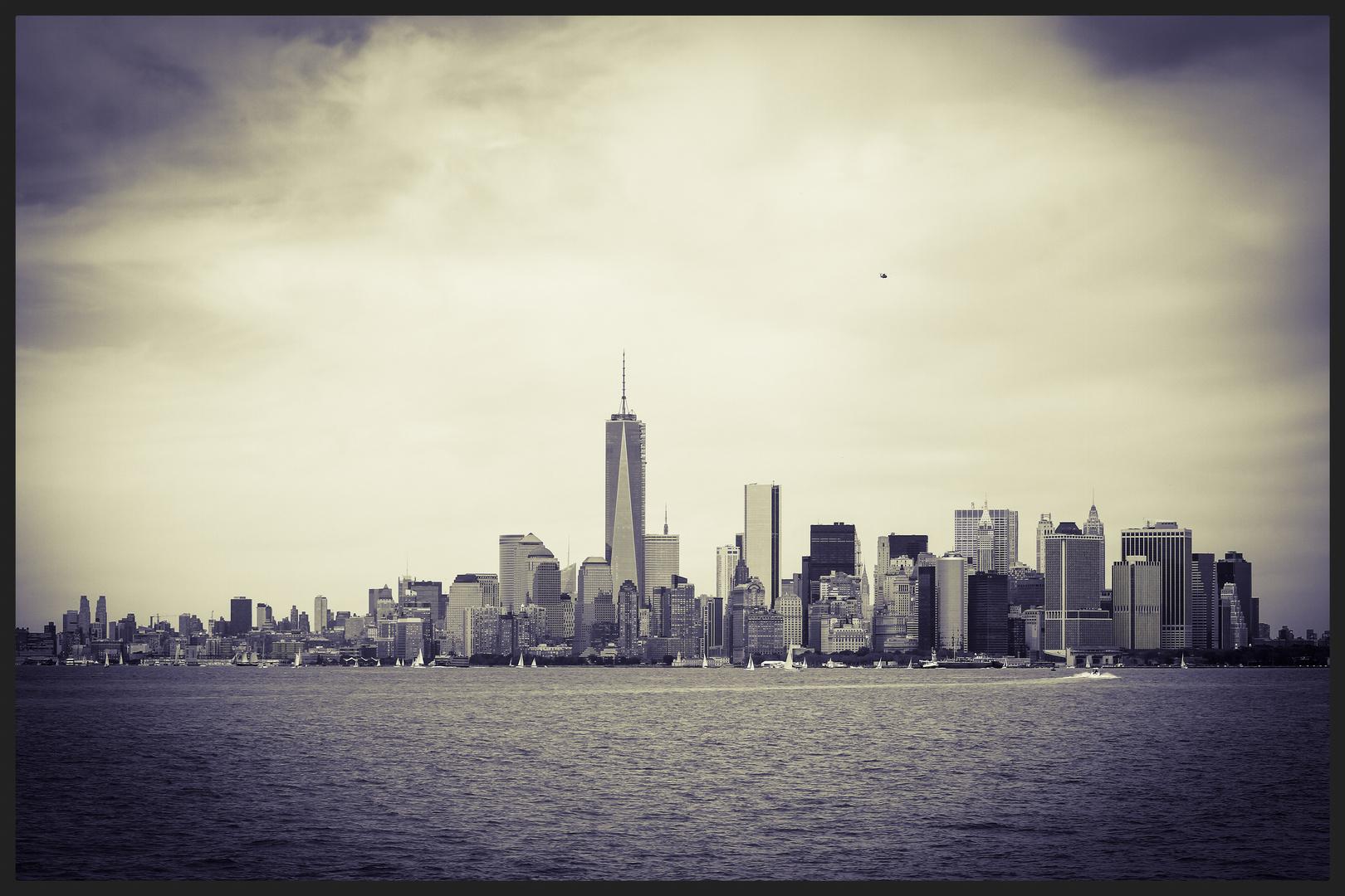 Skyline von Staten Island