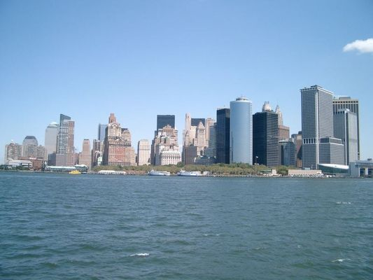 Skyline (von Staten Island aus)