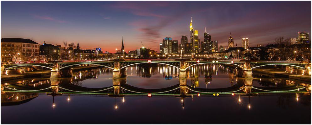 Skylineblick Frankfurt - Panorama-Upload