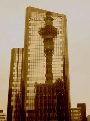 Skytower Spiegelung