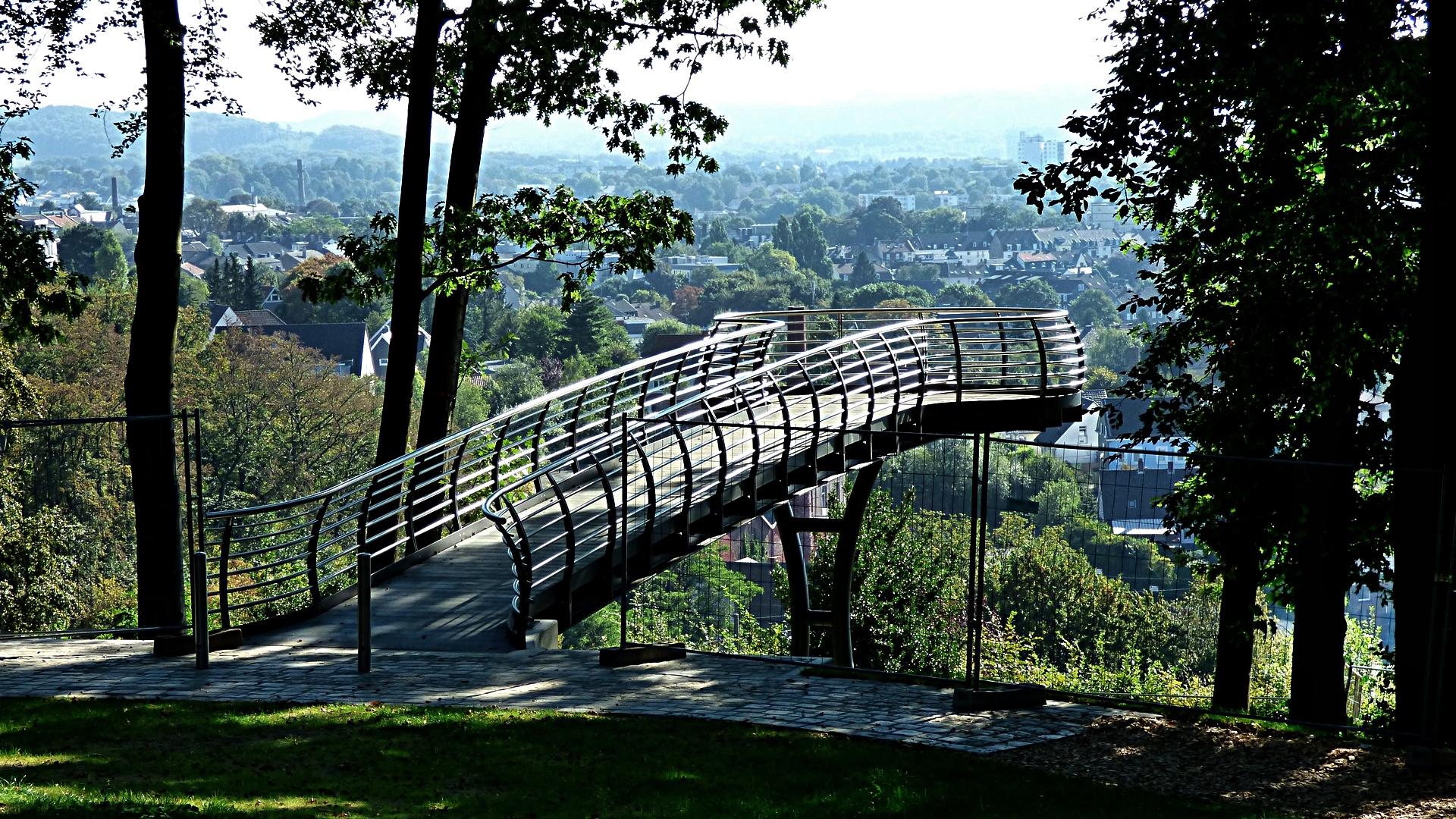 skywalk nordpark wuppertal foto bild world deutschland europe bilder auf fotocommunity. Black Bedroom Furniture Sets. Home Design Ideas