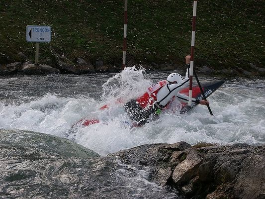 Slalom Kajak Canadier Einer Hüningen