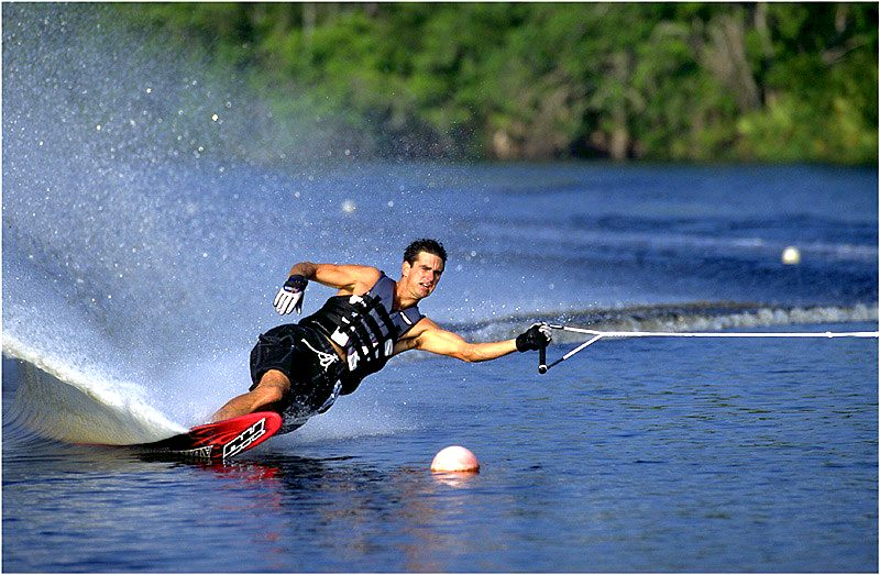 Slalom Profi in action