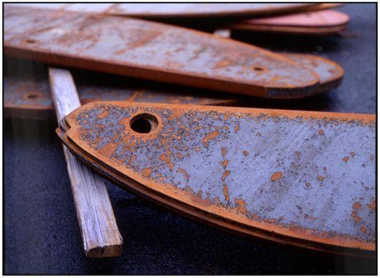 ÍSLAND, R'vík, auf einer Werft im alten Hafen