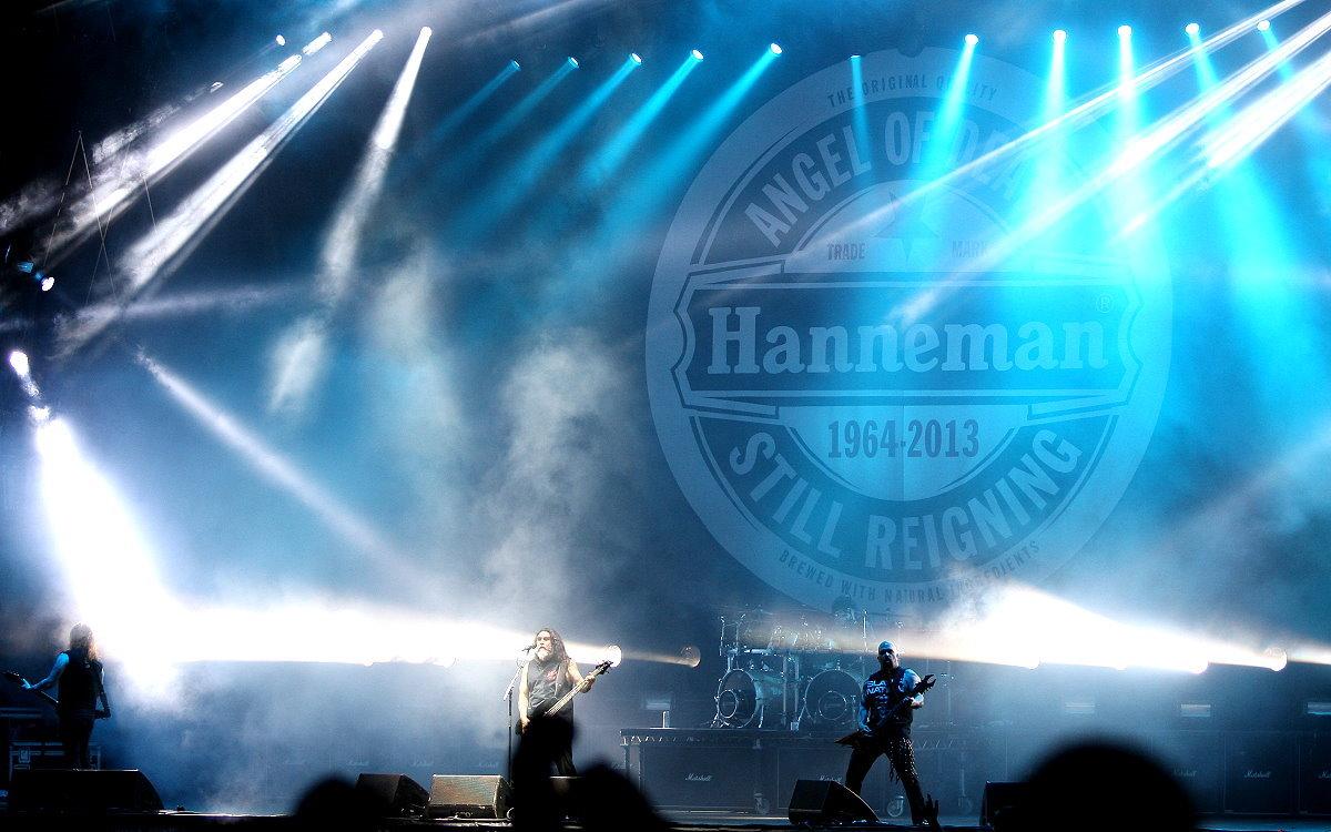 Slayer bei Rock am Ring 2014