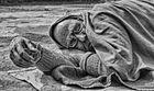 Sleeping Sadhu