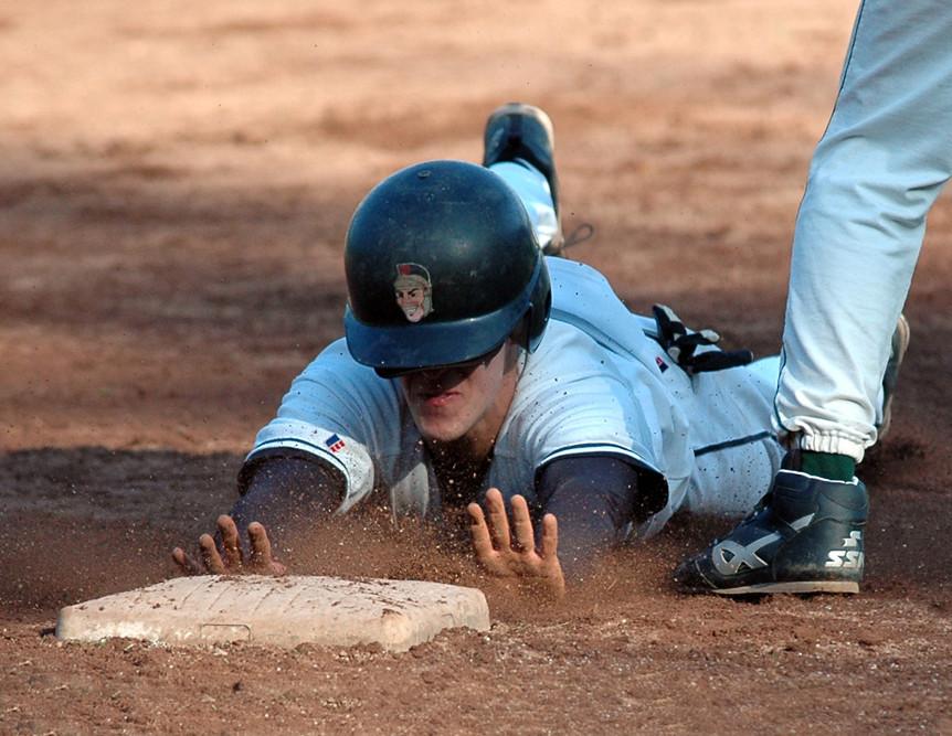 Slide on 3rd Base