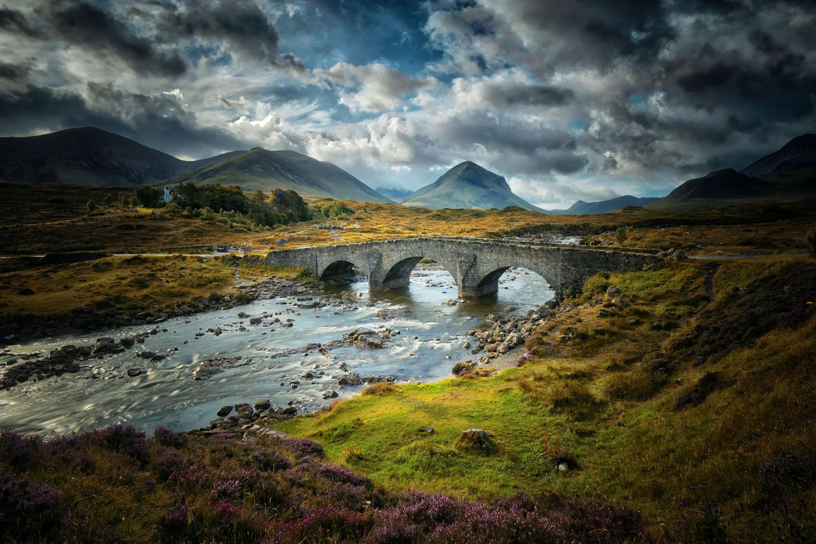 Sligachan Bridge auf der Isle of Skye