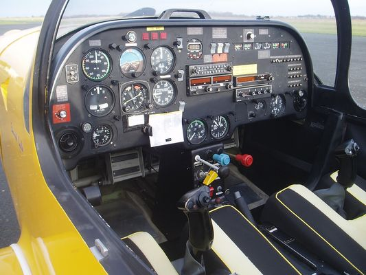 Slingsby T 67 HA-WAI Tableau de bord