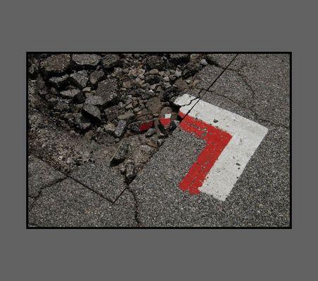 Slow down-road works...