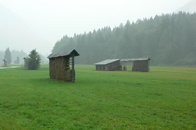 ...Slowenien im Regen und Nebel....