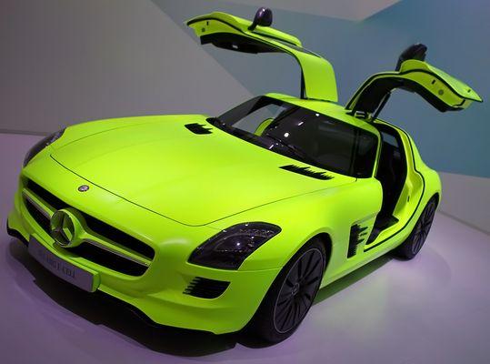 SLS AMG E-Cell (IAA 2011)