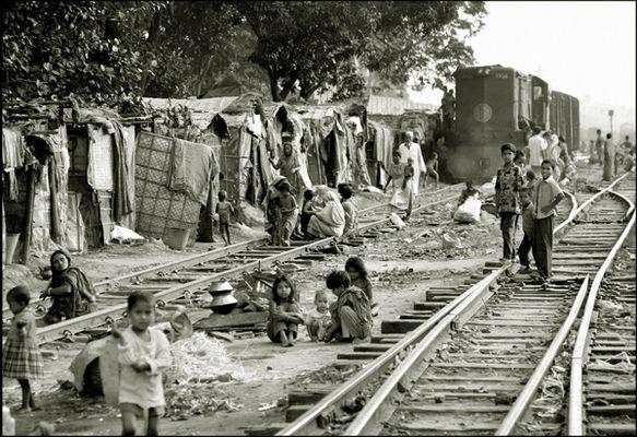Slums, Dhaka.