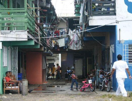 Slums in Panama